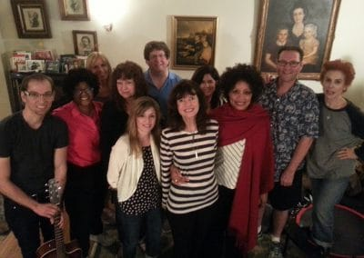 Harriet Schock's Tuesday Night Songwriting Class March 2015